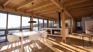 HUT architecture | Chalet Desrosiers
